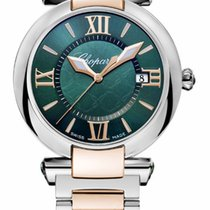 Chopard Imperiale 18K Rose Gold, Stainless Steel & Green...