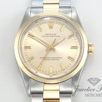 Rolex Oyster Perpetual Stahl Gelbgold 750 Automatik