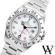 Rolex 2008 40mm SS Explorer ll  White Dial - 3186 Caliber...
