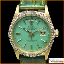 Ρολεξ (Rolex) Day-Date Ref 1803 Custom Green Stella Color Dial