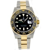 Rolex GMT-MASTER II Steel & 18K Yellow Gold