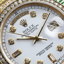 Rolex Men's Used Rolex President 18k Gold Day-date 18038...