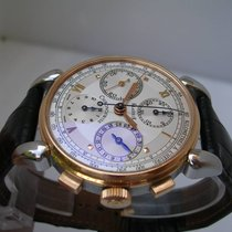 Chronoswiss Klassik Chronograph Acciaio&Oro 18 Kt Automatic
