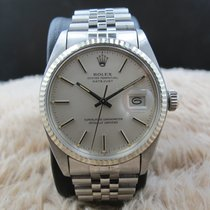 Rolex DATEJUST 16014 Stainless Steel Original Matte Silver...