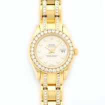 Rolex Pearlmaster Yellow Gold Diamond Watch