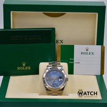 Rolex Unworn Datejust II 116300 Blue Roman Dial
