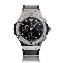 Hublot Big Bang Steel Shiny Automatic Mens Watch 341.SX.1270.V...