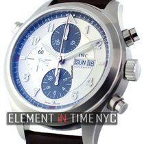 IWC Pilot Collection Stainless Steel Double Chronograph...