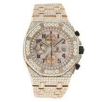 Audemars Piguet Royal Oak Offshore 18K Solid Rose Gold Diamonds