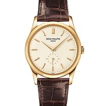 Patek Philippe 5196J Yellow Gold Men Calatrava 37mm [NEW]
