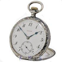 ゼニス (Zenith) Pocket Watch Niello Silver Case
