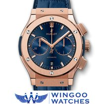 Hublot - CLASSIC FUSION BLUE CHRONOGRAPH KING GOLD Ref....