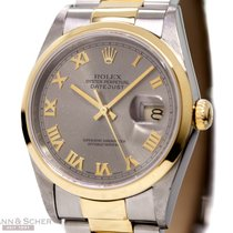Rolex Datejust Ref-16203 Man Size 18k Yellow Gold/Stainless...