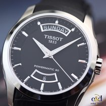 Tissot Couturier Powermatic 80 Black Indexes Automatic Steel ...
