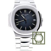 Patek Philippe Nautilus 40mm  full steel Blue Dial NEW