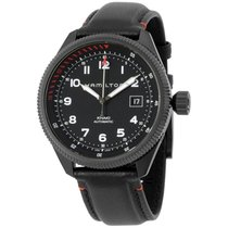 Hamilton Khaki Takeoff Air Zermatt Black Dial Automatic...