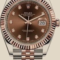 Rolex Oyster Datejust 41mm Steel and Everose Gold