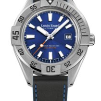 Louis Erard SPORTIVE CLOCK FACE  BLUE 69107AA05BMA29