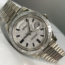 Rolex - Day Date 218399 Diamond Bezel and Dial WG