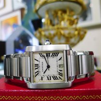 Cartier Tank Francaise Stainless Steel Ref:2302 Automatic Mens...