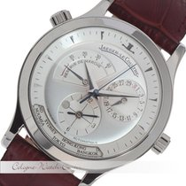 Jaeger-LeCoultre Master Control Geographic GMT Stahl 142.8.92