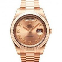 Rolex Day-Date II President 18K Solid Rose Gold