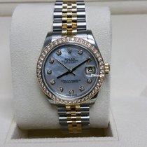롤렉스 (Rolex) DATEJUST MOP DIamond YG 178383