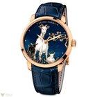 Ulysse Nardin Classico Enamel Rose Gold 18K Blue Men`s Watch