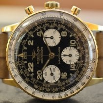 Breitling Navitimer Cosmonaute in 18k Yellow Gold