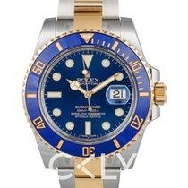 勞力士 (Rolex) Submariner Blue/18k gold Ø40mm - 116613 LB