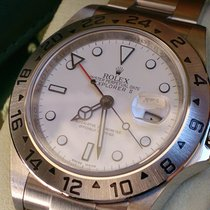 Rolex Explorer II REF 16570 WD+CAL 3186+THIN FRAME+ WIE NEU