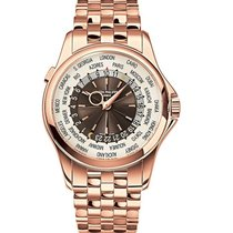 パテック・フィリップ (Patek Philippe) World Time Rose Gold Watch