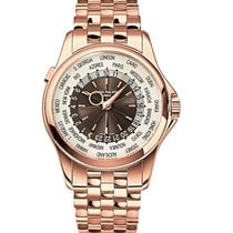 Patek Philippe World Time Rose Gold Watch