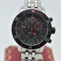 天梭 (Tissot) Prs 200 Chronograph T067417a Black     Stainless...
