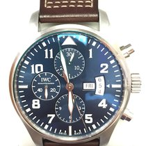 IWC Pilot Chronograph Le Petit Prince B&P 2015 Full Package