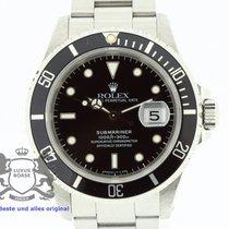 Rolex Submariner 16610 Box & Papers 1992 TRITIUM