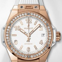 Hublot WHITE KING GOLD BING BANG 456OE2080RW1204