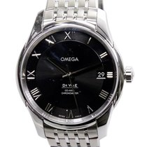 Omega De Ville Stainless Steel Black Automatic 431.10.41.21.01...