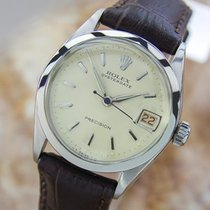 Rolex 6256 Vintage 1954 Swiss Date Mid Size Lady Stainless...