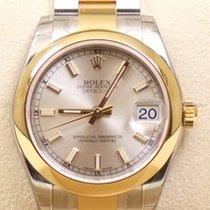 Rolex Datejust, Ref. 178243 - silber Index Zifferblatt/Oysterband