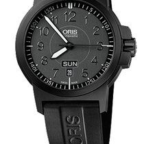 Oris BC3 Advanced, Day Date, Glowing Dial, Rubber