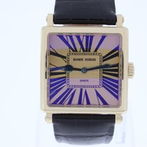 로저드뷔 (Roger Dubuis) Golden Square 37mm Pink Gold NEW