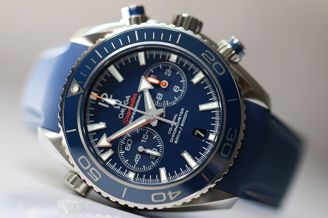 Omega Seamaster Planet Ocean 600m Co-axial Chronometer Prix