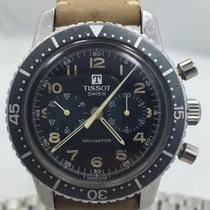 天梭 (Tissot) Rare Navigator Chronograph ref. 817 Lemania 872...