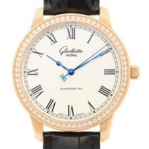 Glashütte Original New  Senator Automatic 18 K Rose Gold With...