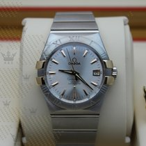 Omega 123.20.35.20.02.003  Constellation (Red Gold on Steel )