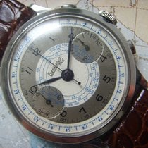 Eberhard & Co. 1940s Very rare LARGE (40MM)  Military...