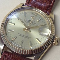 Omega Rolex Oyster Perpetual Datejust Superlative Chronometer 14k