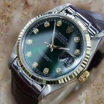 Rolex Ref 16030 Swiss Made Men's 18K Gold and SS Diamond...