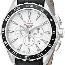 Omega Seamaster Chronograph GMT Stainless Steel Automatic